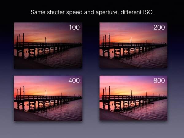 pengaruh iso pada pencahayaan gambar